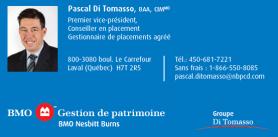 BMO Pascal Di Tomasso